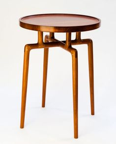 Mahogany side table by John Galvin