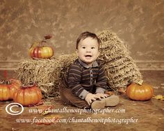 Fall portraits make geat holiday gifts for the grand parents.