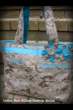 Custom Military Purses Made by http://www.custommadebymelissa.com/photo_3.html