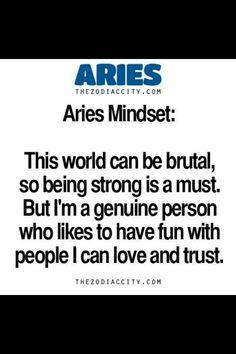 Dus niet met mensen die ik niet kan vertrouwen....