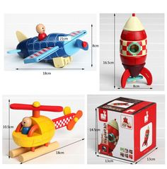 Janod kit magnet wooden magnetic combined child early learning toy,Blue plane/Red rocket/Yellow helicopter for kids best gifts-in Model Building Kits from Toys & Hobbies on Aliexpress.com | Alibaba Group