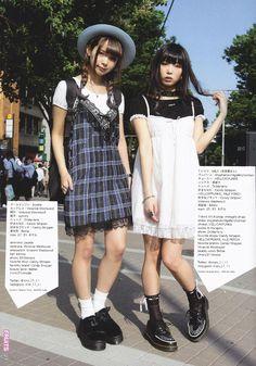 mim & mam, old, models Tokyo Street Fashion, Japanese Street Fashion, Japan Fashion, 90s Fashion, Korean Fashion, Fashion Outfits, Japanese Fashion Styles, Alternative Mode, Alternative Fashion