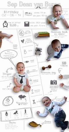 My boy just turned 1! Made him this infographic as inventation for his birthdayparty! #1 #boy #infographic #birthday