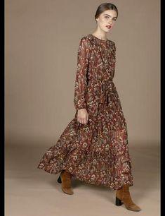 5c5838549af Robes à fleurs   nos 20 modèles coup de coeur pour un hiver bohème et chic