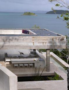 Solis House, Renato D'Ettorre Architects, australia, tropical, island, home, exotic, water, pool, coast, beach, Mediterranean, concrete