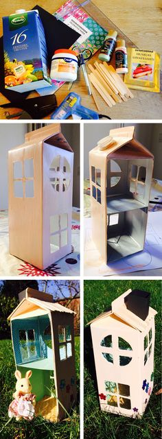 DIY dukkehus til Sylvanian Families DIY dollhouse – Sylvanian Families http://skindstad.dk/blog/diy-dukkehus-til-sylvanian-families