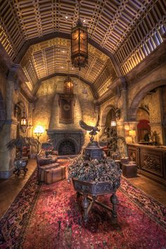 Twilight Zone Tower of Terror lobby at Hollywood Studios WDW