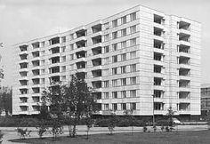 Flats at Hansaviertel - Alvar Aalto