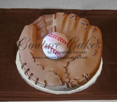 Pin Baseball Glove The Eiffle Tower A Barbie Doll Cake My Mom On