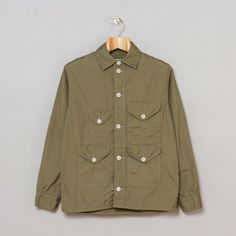 Post O'alls Cruzer 5-W Jacket in Sage Broadcloth