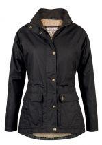 Sallywood Waxed Cotton coat shown in black Waxed Coats, Irish Clothing, Country Wear, Wax Jackets, Tweed Jacket, Outdoor Outfit, Military Jacket, Raincoat, Lady
