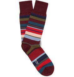 Paul Smith Shoes & Accessories - Striped Cotton-Blend Socks | MR PORTER