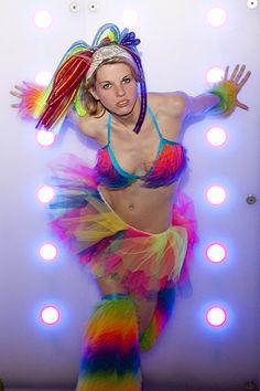 e28743d7ac Kiersten - Rainbow Rave Girl