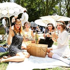 New Yorkers went back in time this weekend at the 10th annual Jazz Age Lawn Party. @bfa Town&Country