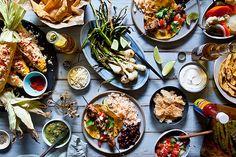 Mexican Fiesta Table by tartelette, via Flickr