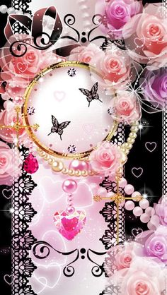 Pink Princess Watch Gothic wallpaper