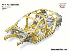 2014 Audi A3 Sportback Chassis