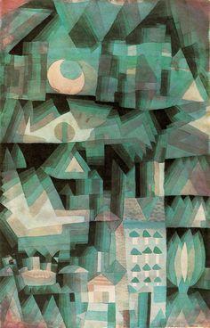 PAUL KLEE Dream City. 1921.