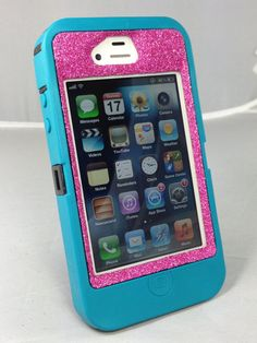 Otterbox Case iPhone 4/4S Glitter Cute Sparkly Bling by 1WinR, $49.99