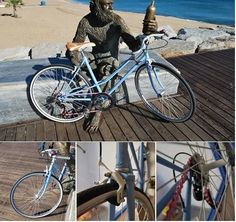 Mediterrània, del Benestar. Bicicleta de paseo.