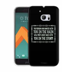 HTC 10 Dancing in the Rain Chalk Slim Case