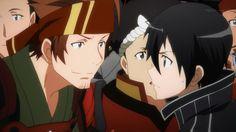 Klein and Kirito