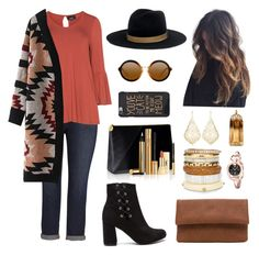autumn🍁🍂🌾 by candynena228 on Polyvore featuring polyvore fashion style Zhenzi Melissa McCarthy Seven7 Chico's Kendra Scott Gucci Janessa Leone Thierry Mugler Yves Saint Laurent clothing