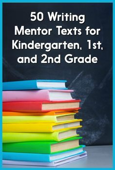 This post has a HUGE list of mentor texts for narrative, opinion, and informational writing! You can use these books to teach personal narrative writing, story writing, opinion writing, persuasive writing, how-to writing, and nonfiction writing. There's also a list of 5 tips for using mentor texts!