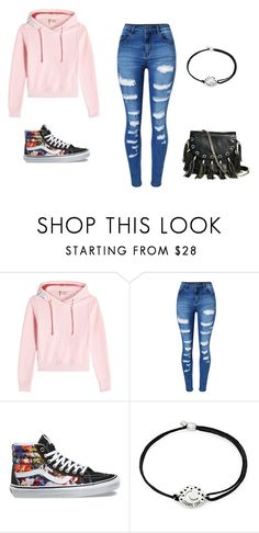 """""""Casual Autumn"""" by summerdandelion ❤ liked on Polyvore featuring Vetements, WithChic, Vans, Alex and Ani and GUESS by Marciano"""
