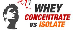 new #fitness article from AX - Whey Concentrate vs Isolate - which is better?