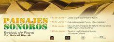 Conciertos de piano solo. Improvisación, música original y clásicos de jazz.http://www.desktopcostarica.com/eventos/2013/paisajes-sonoros-piano-de-gabriel-wiernik