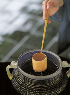 茶道 tea ceremony in Japan
