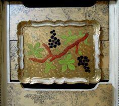 Vintage Italian Florentine Rectangular Tray / by AandNmercantile