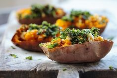 Spice up your baked potatoes with these variations.