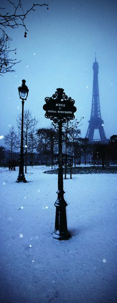 Winter in Paris ~ France