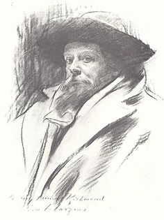John Singer Sargent , Sir William Blake Richmond - Mug