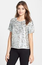 Pleione Sequin Top available at Nordstrom.