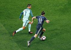 Cristiano Ronaldo vs Gareth Bale #EURO2016