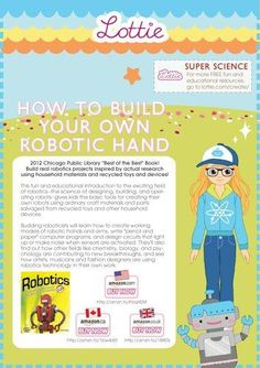 How to build an Art Bot project: robotic project for kids by award-winning author Kathy Ceceri. : FREE Lottie Dolls Printables for Kids Robotics Projects, Science Projects, Projects For Kids, Toys For Girls, Kids Toys, Recycled Toys, Multiplication Chart, Free Activities For Kids, Stem For Kids