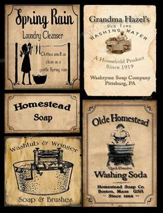 Printable Primitive Labels Coffee | Our Best Selling Labels From Our Etsy  Shop!