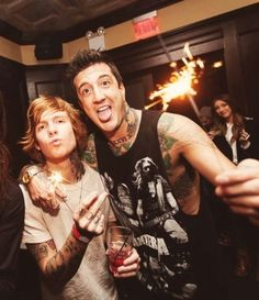 Austin Carlile and Alan Ashby (Cashby) Love Band, Cool Bands, Memphis May Fire, The Amity Affliction, Alan Ashby, Austin Carlile, Music Is My Escape, Chris Tomlin, Mikey Way