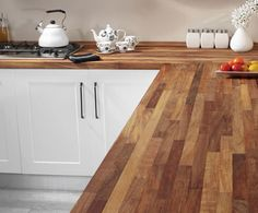 matte wood work top - Axiom by Formica Solid kitchen worktops