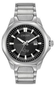 BUY NOW from Amazon before it`s sold out! - Citizen Men's ' Quartz Titanium Casual Watch, Color:Silver-Toned (Model: AW1540-88E)