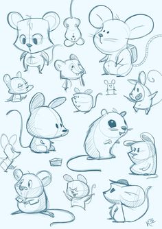 Animal Character Designs on BehanceYou can find Character design animation and more on our website.Animal Character Designs on Behance Cute Animal Drawings, Animal Sketches, Cartoon Drawings, Cartoon Art, Cute Drawings, Drawing Sketches, Cartoon Ideas, Cartoon Design, Character Design Animation