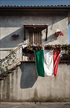 Our flag is usually displayed outside houses when our national soccer team plays!