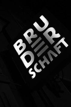 #bruderschaft #gdansk #pub #coctailbar #poland #branding #typography #logo #design