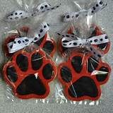 Sweet Boutique llc hinsdale bakery paw print decorated sugar cookies