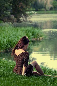 Vintage summer dress- Panno A
