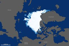 Arctic Sea Ice at a Minimum by earthobservatory.nasa.gov: In August and September 2012, sea ice covered less of the Arctic Ocean than at any other time since at least 1979, when the first reliable satellite measurements began dropping to 3.41 million square kilometers (1.32 million square miles)—well below the previous record of 4.17 million square kilometers (1.61 million square miles) set in 2007. At the same time Antarctic Sea Ice reached a maximum! #Arctic #Sea_Ice #NASA