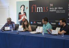 12/06/15 Mesa redonda Libros que s comen (o casi) con el bloguero Mikel López Iturriaga, El Comidista, y la escritora Mercedes Cebrián.  Foto © Jorge Aparicio/ FLM15